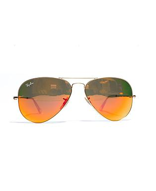 RB 3025 AVIATOR LARGE METAL 112/69