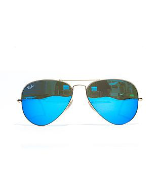RB 3025 AVIATOR LARGE METAL 112/17